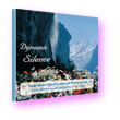 Dynamic Silence by Walpurgis Schwarzmuller—dramatic alpine scene with waterfall